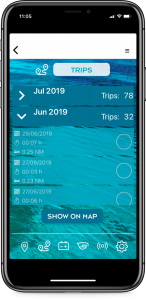 boat monitoring trips